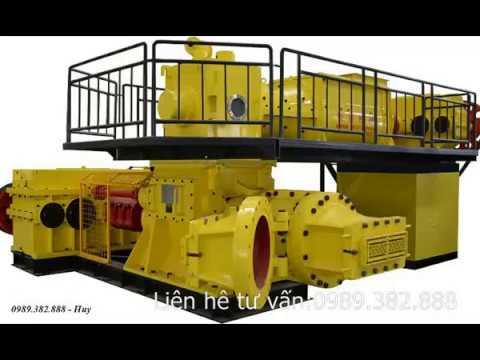 Hình ảnh Đầu đùn gạch Tuynel-Công nghệ đùn bán khô