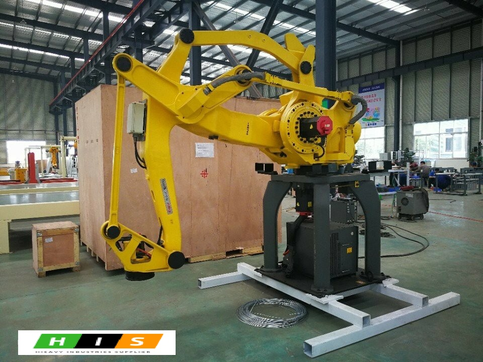 Robot xếp gạch Fanuc Nhật Bản